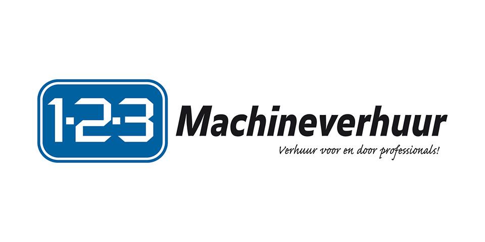logo-1.2.3.-machineverhuur-met-slogan