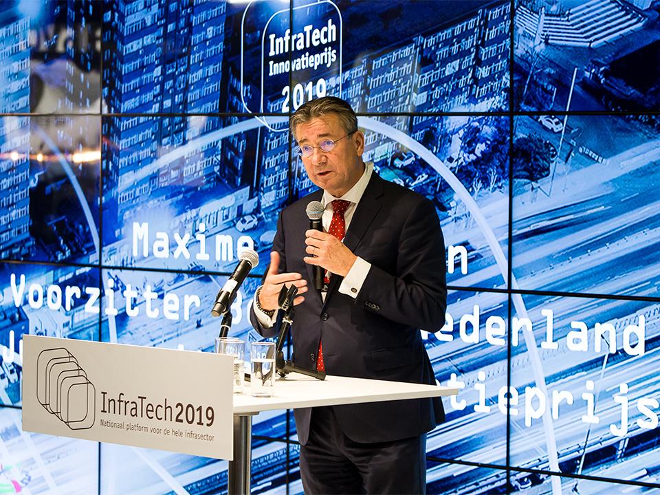 Uitreiking InfraTech 2019 Innovatieprijs in Rotterdam Ahoy
